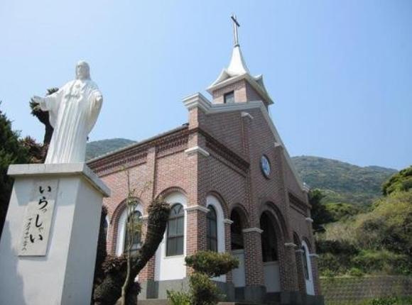 五島列島 福江島 おすすめ 観光 名所 名物 人気 食べもの 井持浦教会